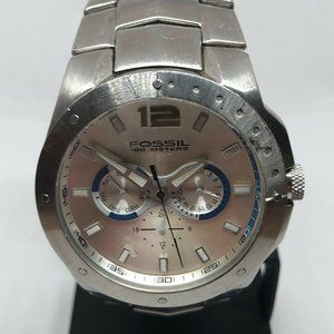 Fossil Men Stainless Steel Analog Dial Watch KG364